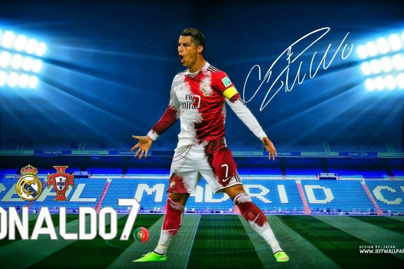 1920x1080 Download Cristiano Ronaldo CR7 Real Madrid Kit 2015 HD Wallpaper .