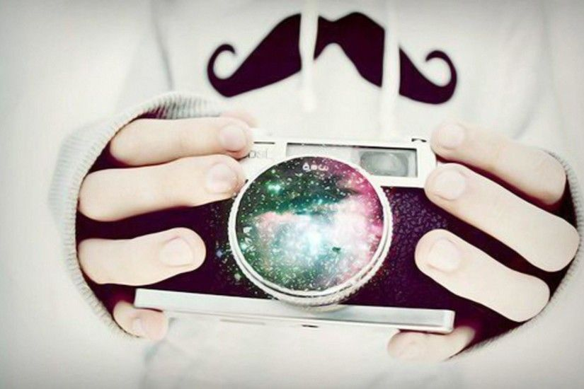 Mustache Wallpaper Tumblr Moustaches and galaxies and Girl