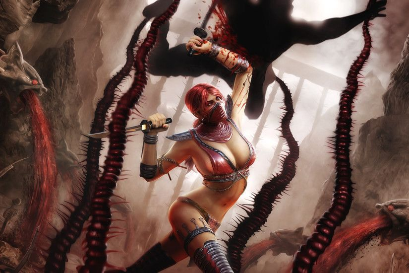 Skarlet in Mortal Kombat