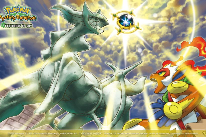 Pokémon Mystery Dungeon: Explorers of Sky Wallpaper 2