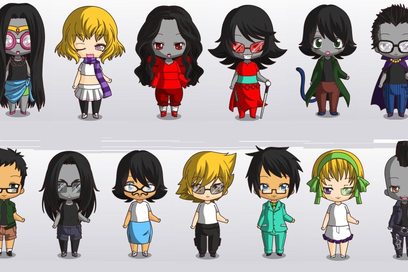 Homestuck Homestucks I could make in chibi