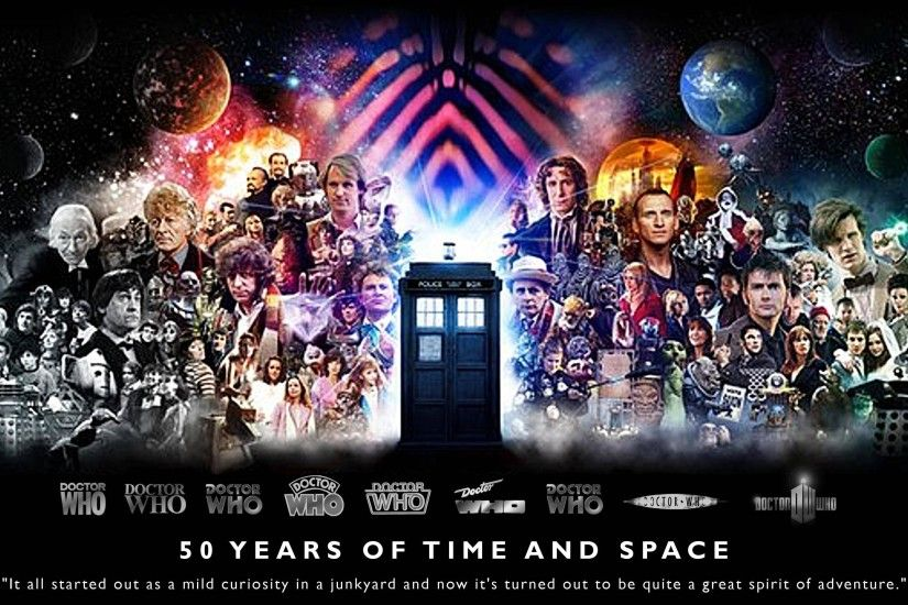 Here's a Doctor Who 50th Anniversary HQ Wallpaper that I made! - Imgur
