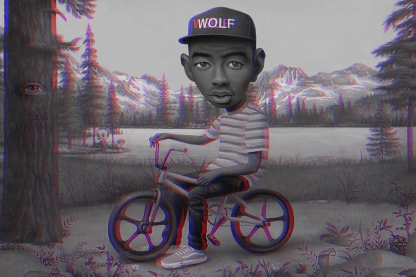 anaglyph 3D, Hip Hop, Tyler The Creator Wallpaper HD