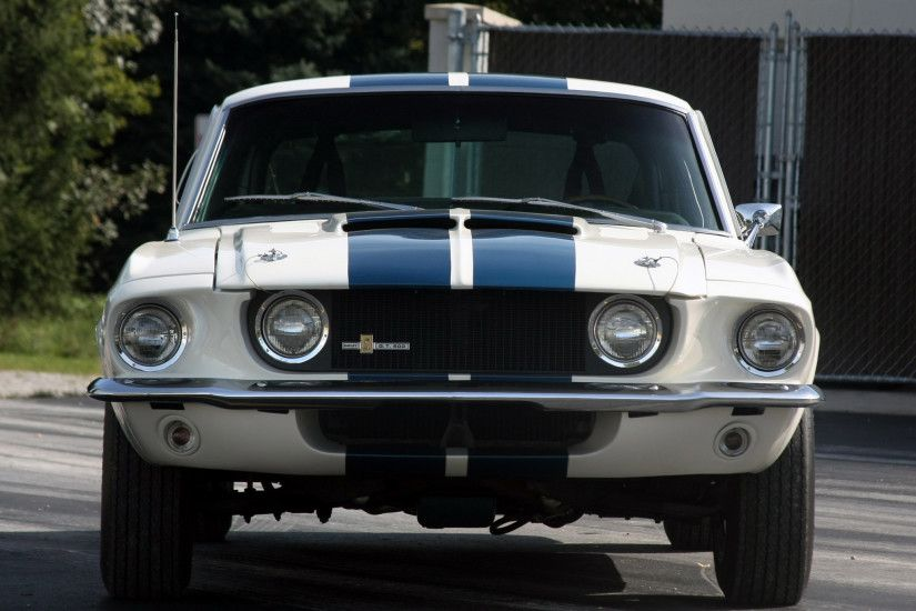1967 Shelby GT 500 Front grille and lights