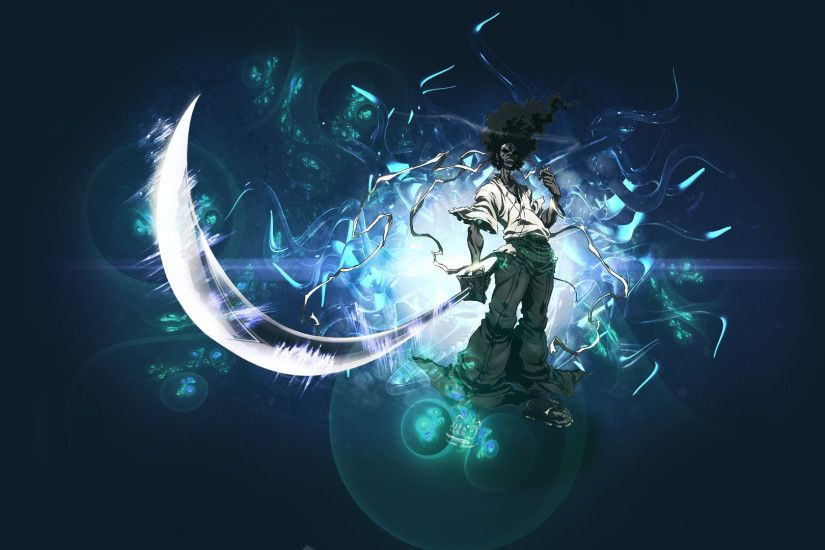 ... Afro Samurai Wallpaper (Inc WIP video) by TheMMMCake