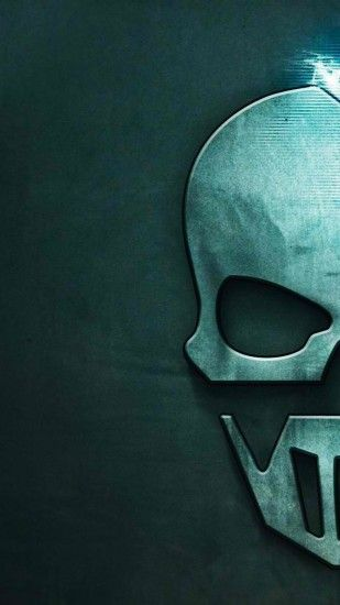 Download the Android Ghost Recon skull wallpaper