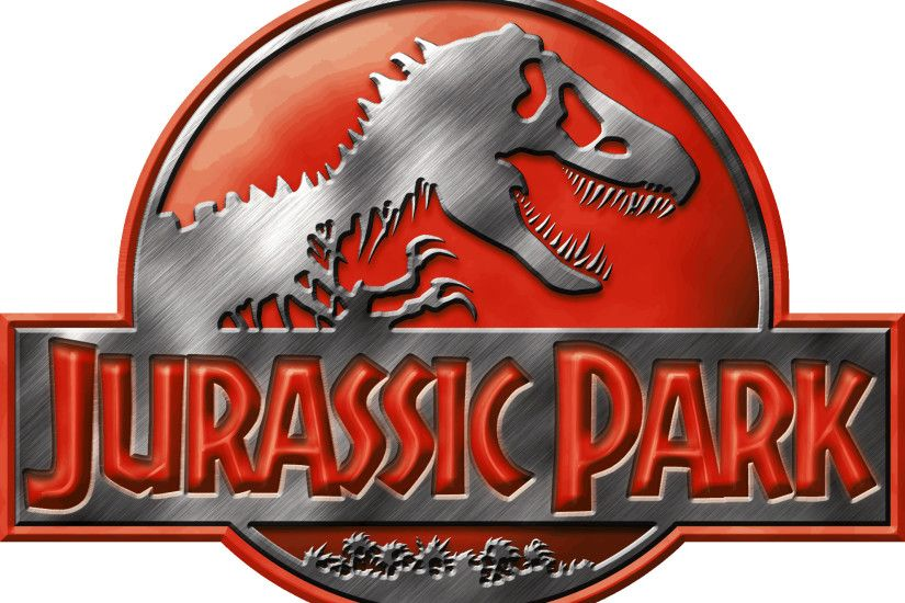 Jurassic Park Logo Red by OniPunisher on DeviantArt