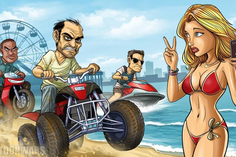 Gta 5 Cartoon Characters : Wallpapers gta wallpaper sportstle