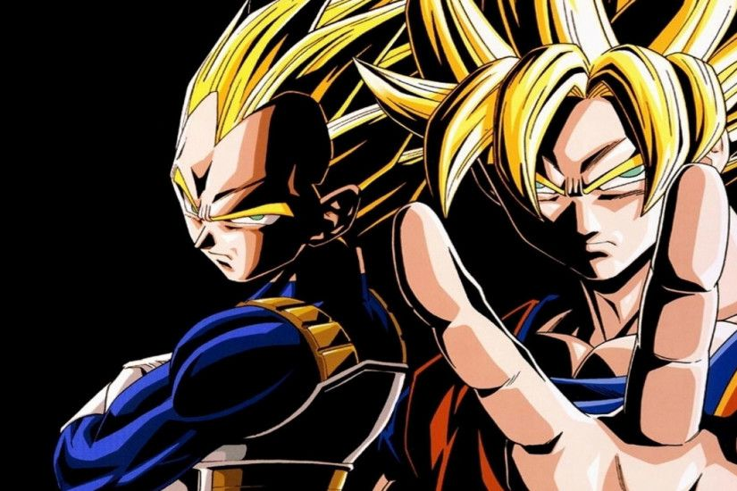 Dragon Ball Z Vegeta & Goku