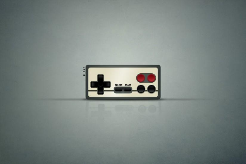Gamepad Minimalistic NES Simple Background Simplistic Wallpaper