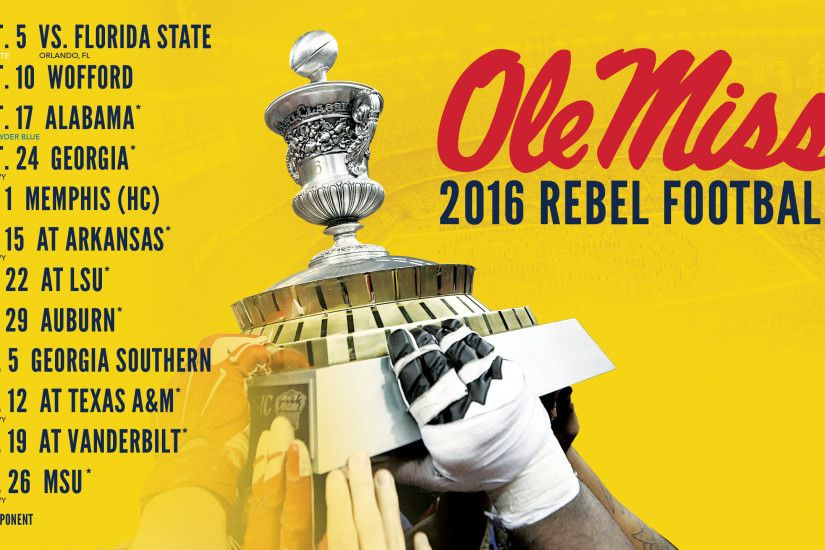 Ole Miss Football Schedule 2017 All The Best In