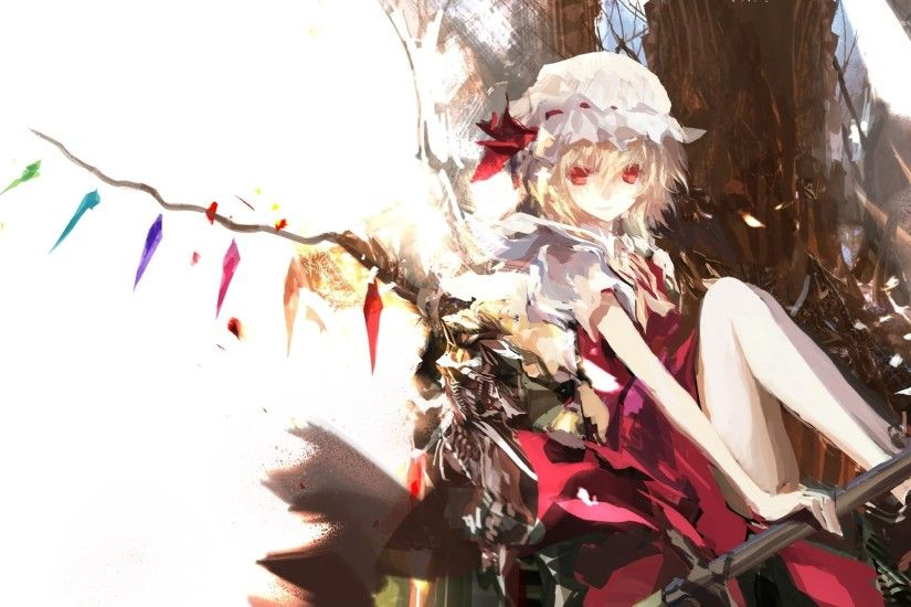 Flandre Scarlet - Touhou Project wallpaper
