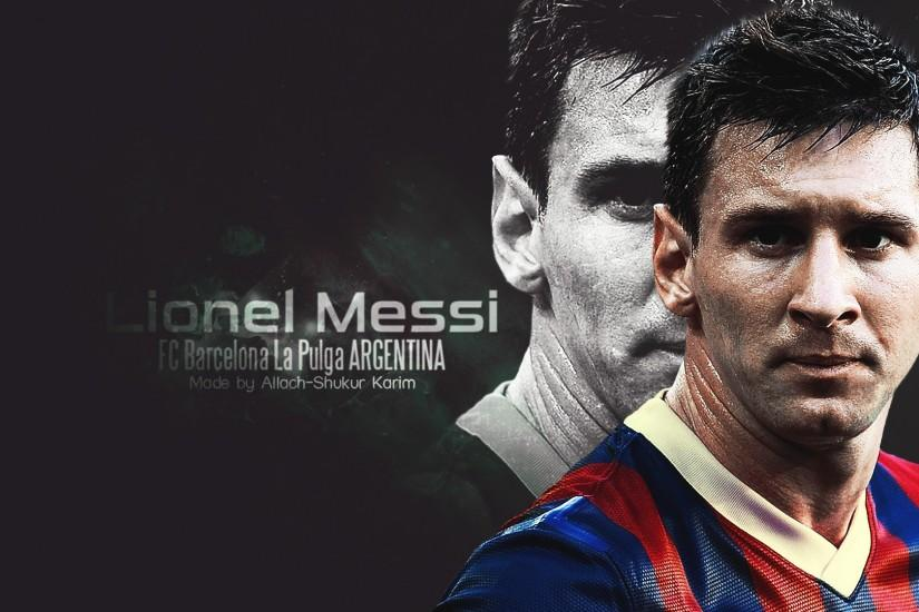 Lionel Messi wallpaper by selvedinfcb Lionel Messi Wallpaper FC Barcelona  2014-2015