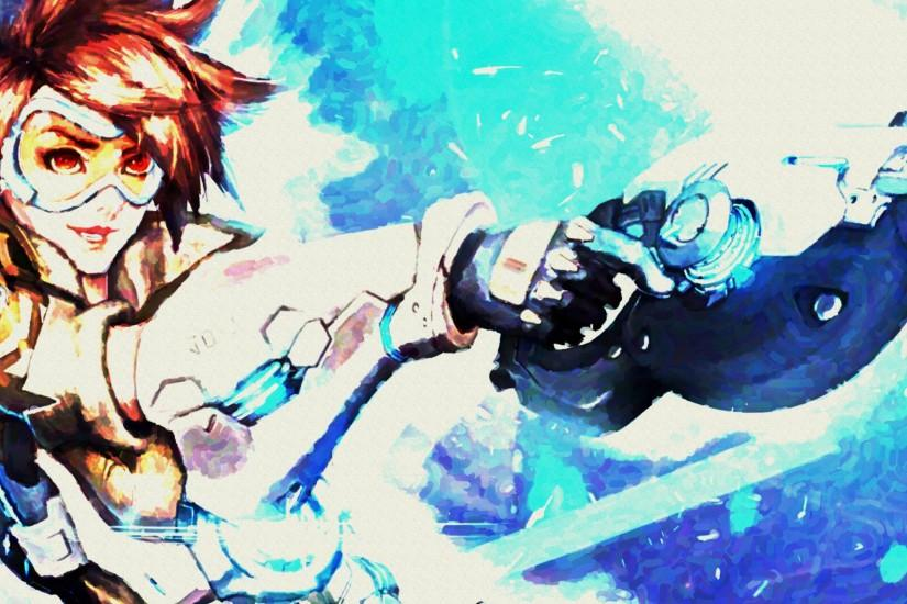 most popular overwatch tracer wallpaper 3839x2159