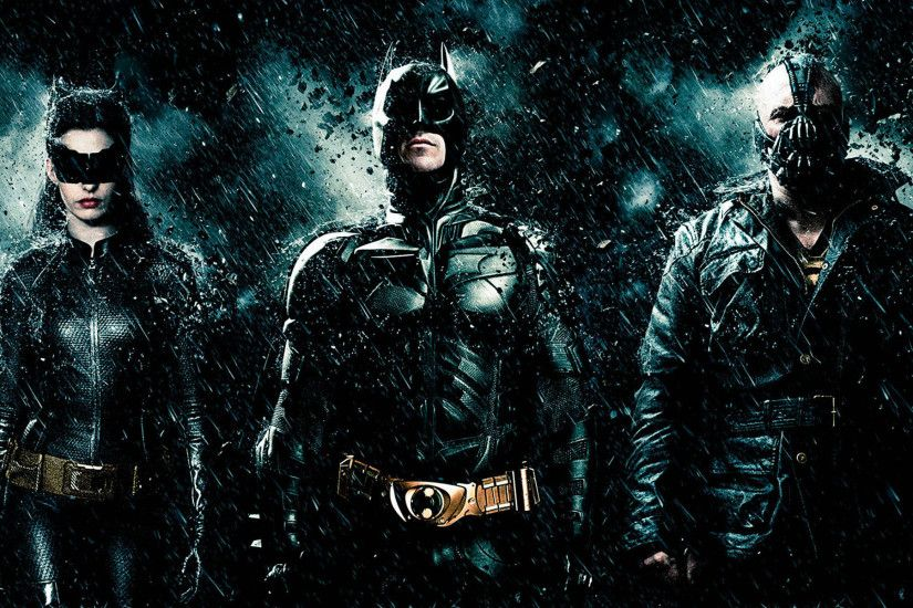 Download Batman with Bane, Joker, catwoman wallpaper | Fantasy .