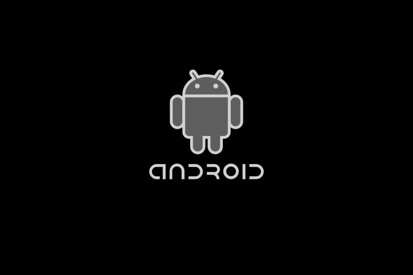 Android Black HD Wallpaper