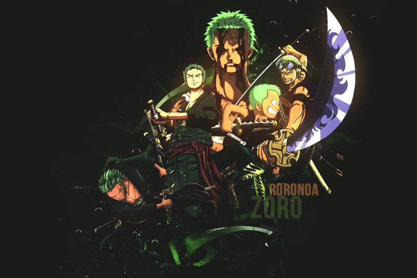 Roronoa Zoro Wallpaper by dani17k Roronoa Zoro Wallpaper by dani17k
