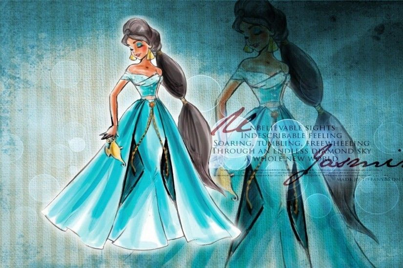 Walt Disney Princess Jasmine HD Wallpaper
