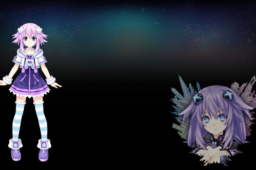 Hyperdimension Neptunia Re;Birth 3: V Generation Wallpaper 011 – Neptune