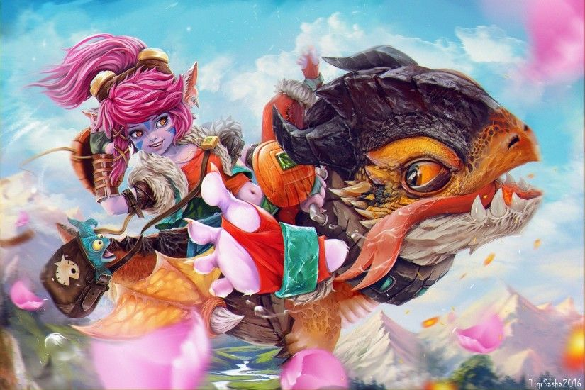 feet, Fantasy art, League of Legends, Video games, Tristana Wallpapers HD /  Desktop and Mobile Backgrounds