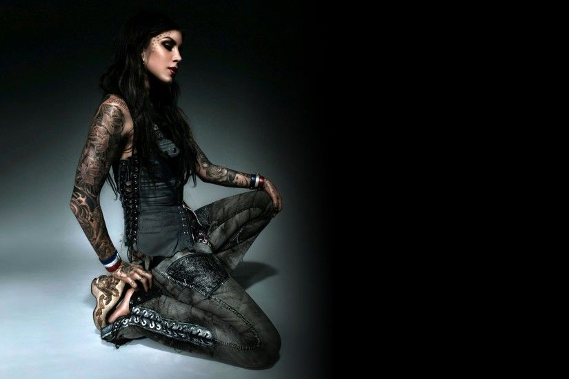 Kat Von D, Tattoo, Model Wallpapers HD / Desktop and Mobile Backgrounds