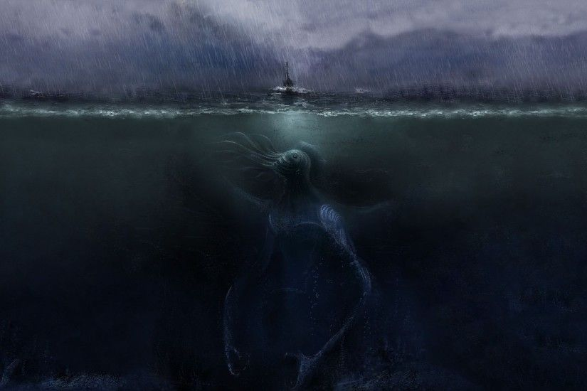 Giant Sea Monster ...