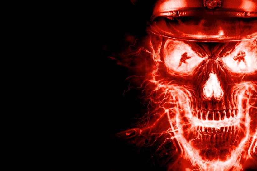 Skulls Wallpapers dark skull wallpaper Dark Wallpapers High 1920×1200 Red  And Black Skull Wallpapers