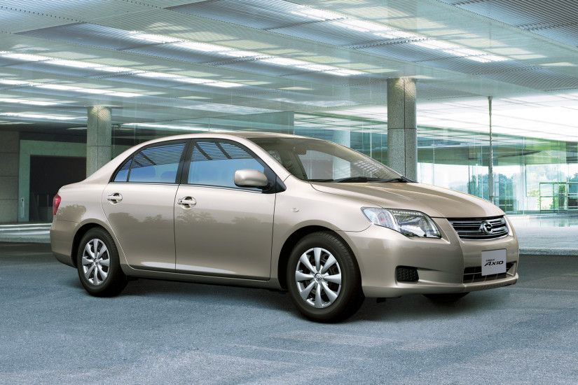 Toyota Corolla Axio 2006–08 wallpapers
