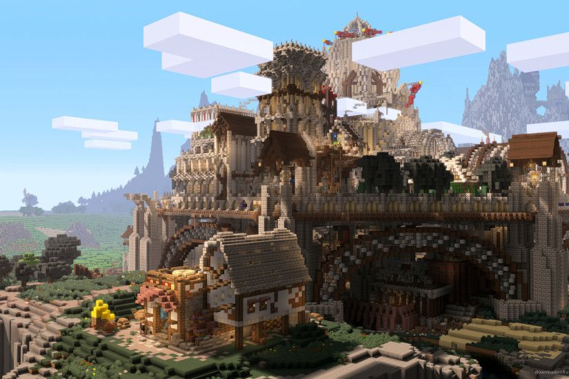 Minecraft Ramparts for 1920x1080