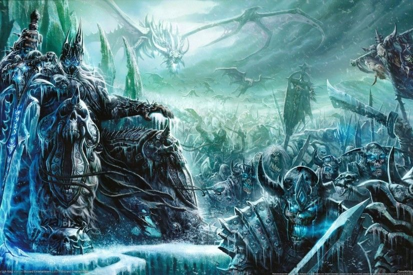 ... WOW: The Lich King widescreen wallpapers