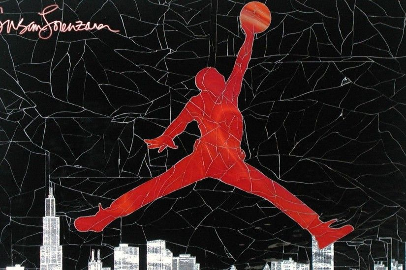 Air Jordan Logo Wallpaper For Desktop