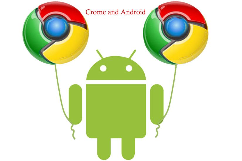 New-Chrome-And-Android-Logo-Wallpaper-Full-HD
