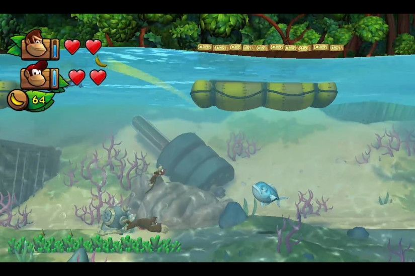 Donkey Kong, Tropical Freeze, Nintendo, Wii U, Exclusive, Preview, Hands