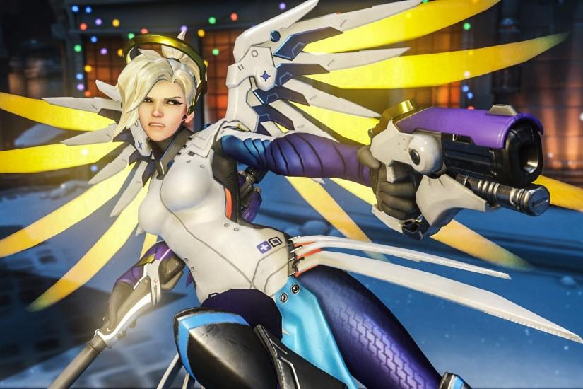 download free mercy overwatch wallpaper 1920x1080 for desktop