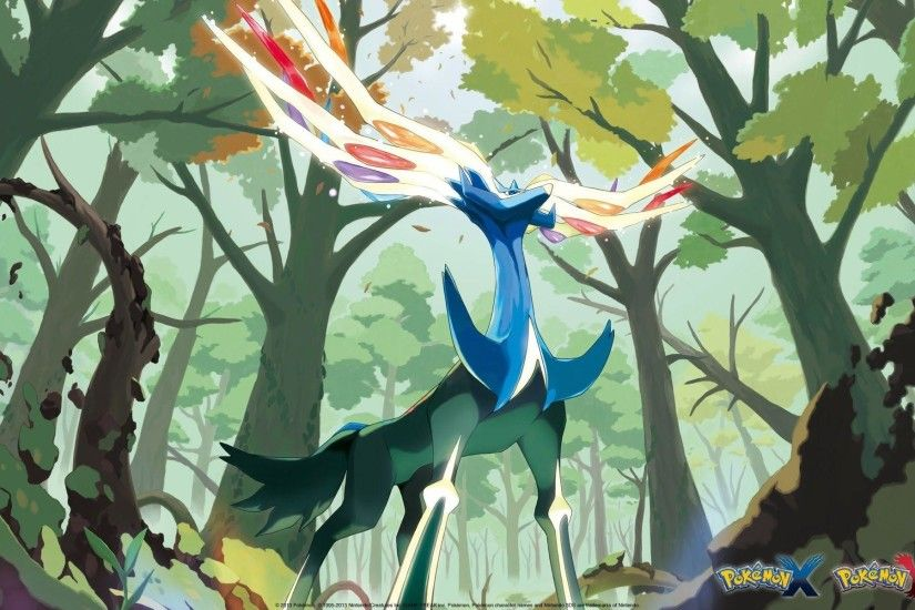 Xerneas Pokemon X and Y a297 HD Wallpaper