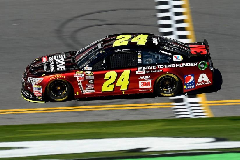 Daytona 500 Jeff Gordon 2015 Nascar Chevy SS Wallpaper