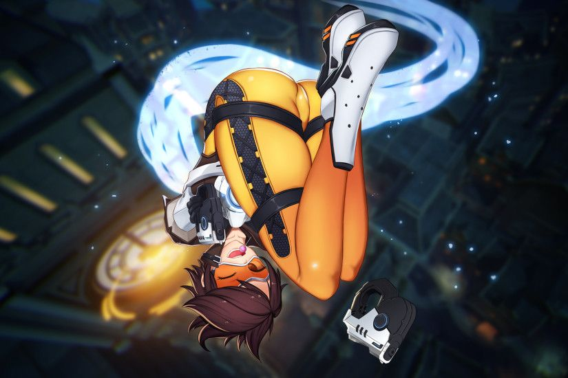 Overwatch, Tracer, Anime Style
