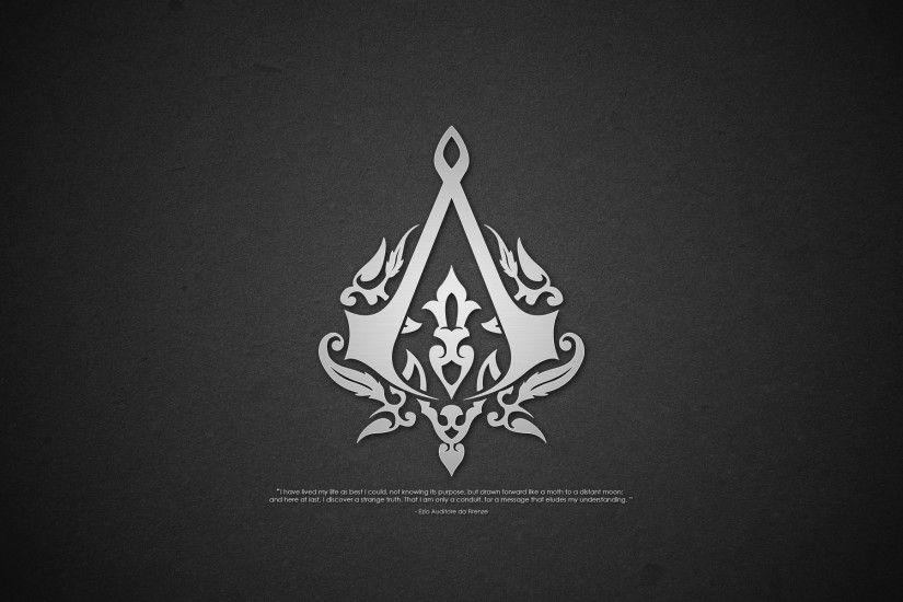 3317 Assassins Creed Logo Wallpaper