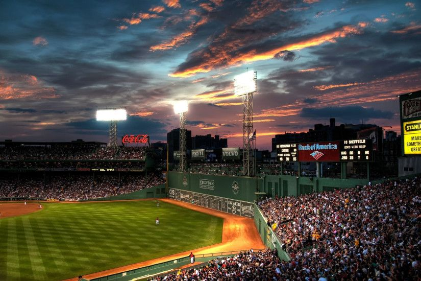 Sports - Boston Red Sox Fenway Park Wallpaper