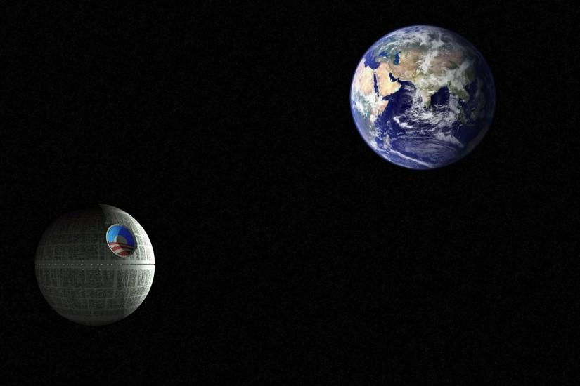 Background wallpaper, wallpaper, Obama Star (Death Star) ready to .