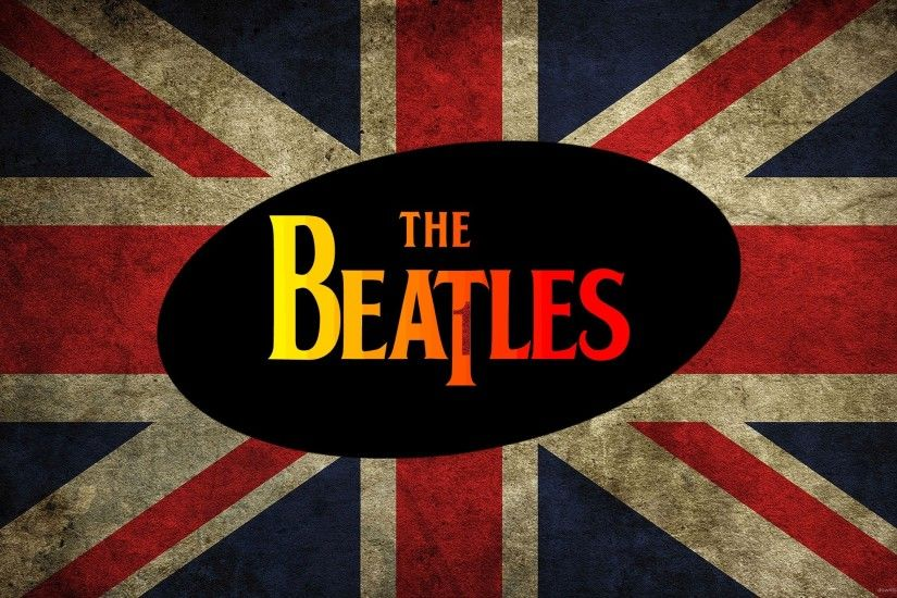 The Beatles Union Jack for 2560x1440