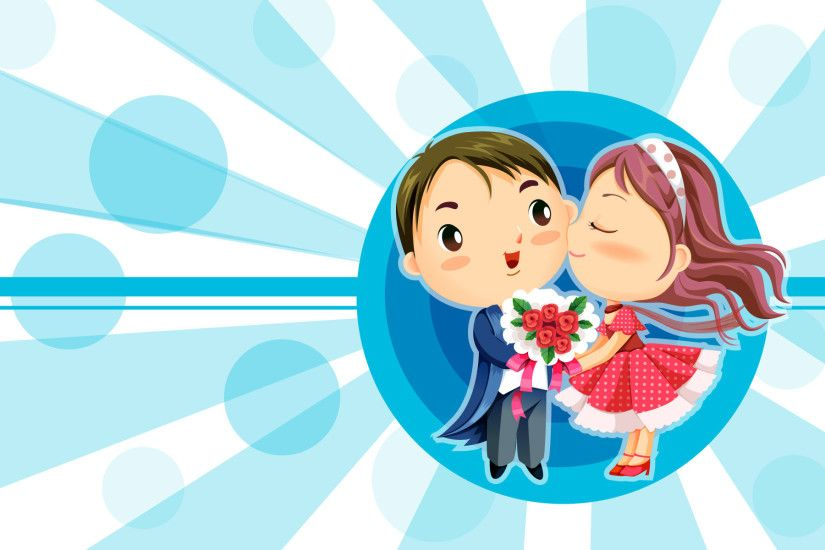 Cute Vector Cartoon Wallpaper 7767