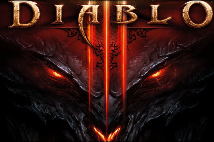 Diablo 3 logo dark 3 wallpaper from Diablo 3 wallpapers