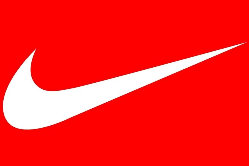 White Nike Logo wallpaper