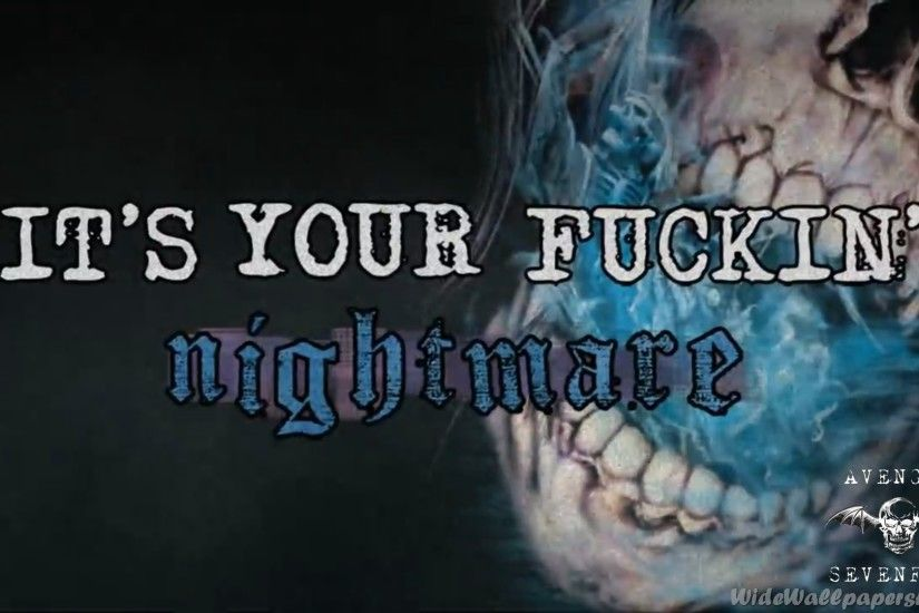 Avenged Sevenfold Nightmare Wallpapers High Resolution