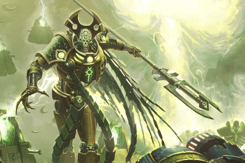 Necron - Warhammer 40,000 wallpaper
