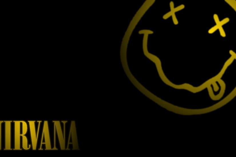 Nirvana Wallpaper Smiley Logo by TheJariZ on DeviantArt
