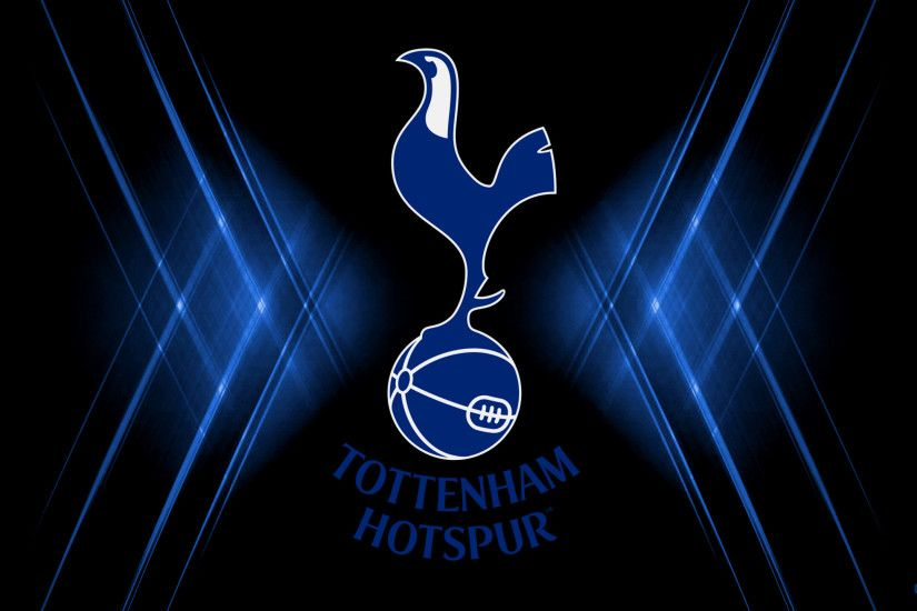 Black blue Tottenham Hotspur football club wallpaper
