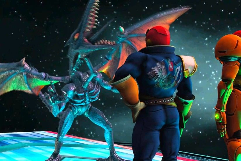 Captain Falcon does not want to hang out with Ridley