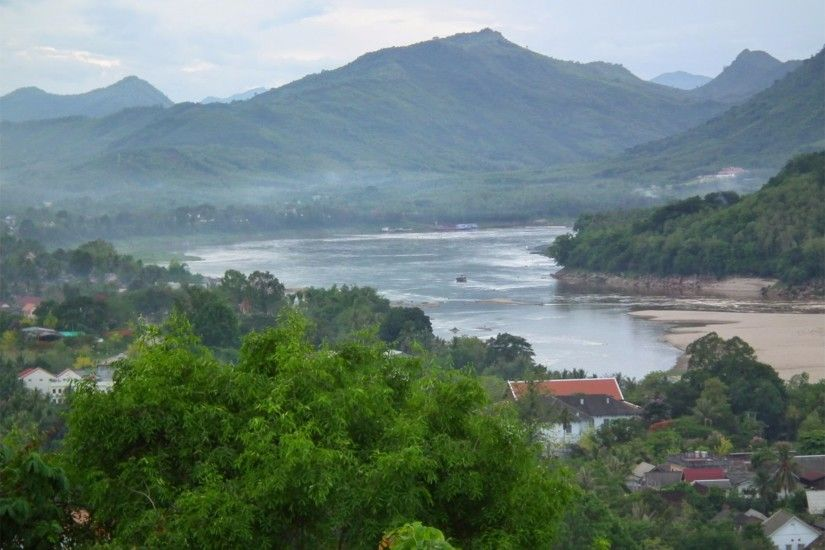 Scenic View 4K Luang Prabang Laos Wallpaper